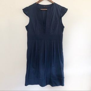 BCBGMAXAZRIA Casual Navy Dress
